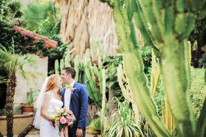 Modern, Colorful Palm Springs Wedding