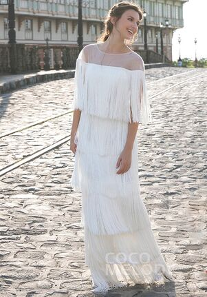 CocoMelody Wedding Dresses LD5358 Sheath Wedding Dress