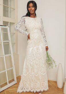 Lulus Say I Do White Lace Long Sleeve Mermaid Maxi Dress Mermaid Wedding Dress