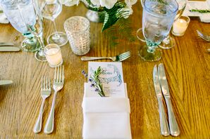 Rosemary Accented Place Settings