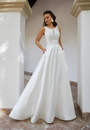 Moonlight Tango T938 A-Line Wedding Dress