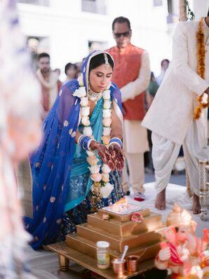 Indian Wedding Ceremony at UC Berkeley Stadium in Berkeley, California