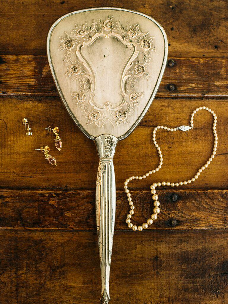 'Cinderella' inspired getting-ready wedding accessories
