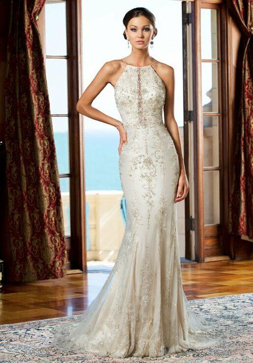 KITTYCHEN Couture CHER, H1417 Sheath Wedding Dress