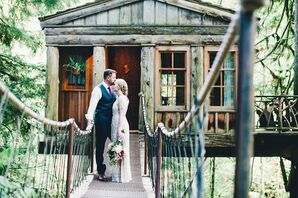 Intimate Forest Wedding in Washington