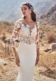 Calla Blanche 19115 Estelle Sheath Wedding Dress