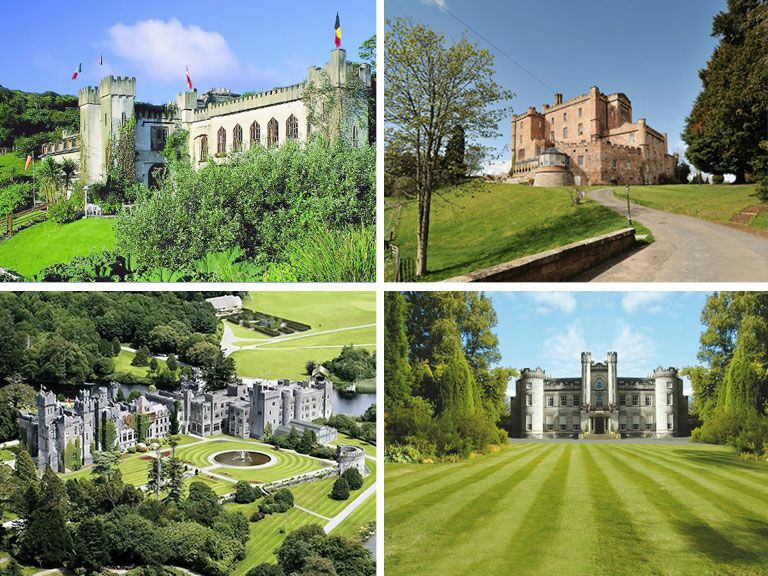 Castles to get married in
