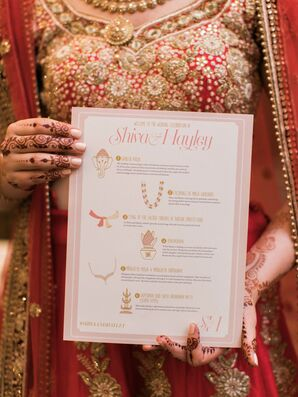 Custom Programs for Hindu Ceremony