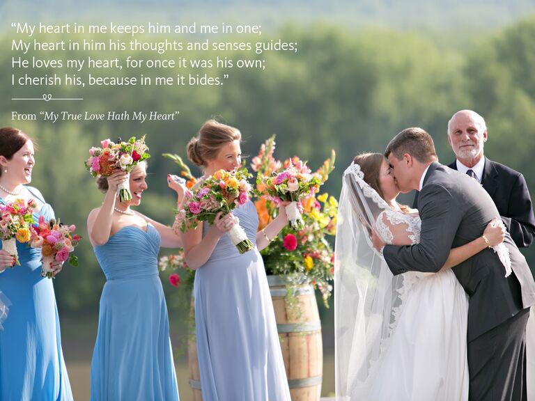 My True Love Hath My Heart wedding ceremony reading