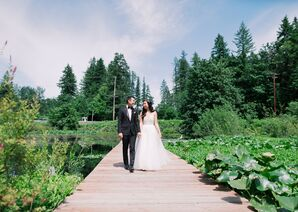 Modern, Natural Ceremony Site at Black Diamond Gardens in Washington