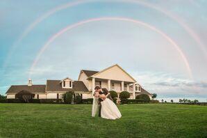 Southfork Ranch Double Rainbow Wedding