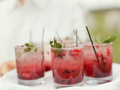 Beat the Summer Heat With These Reception Cocktails