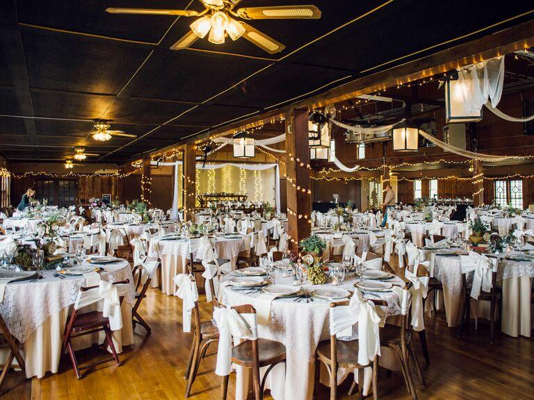 The Columbia Ballroom Oklahoma wedding venue