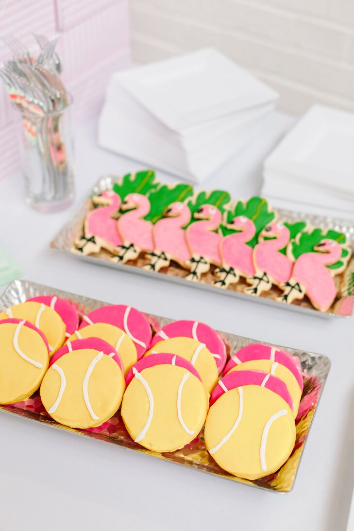 Colorful Custom Cookies on Trays