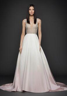Lazaro 3757 A-Line Wedding Dress