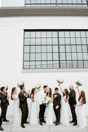 Wedding Party at The Winslow in Baltimore, Maryland