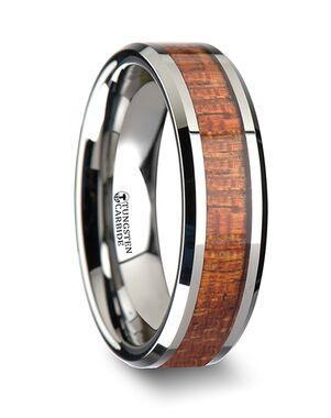 Mens Tungsten Wedding Bands W1895-MHWI Tungsten Wedding Ring