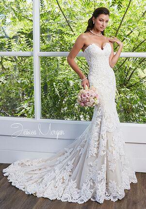 Jessica Morgan VOGUE J1858 Sheath Wedding Dress