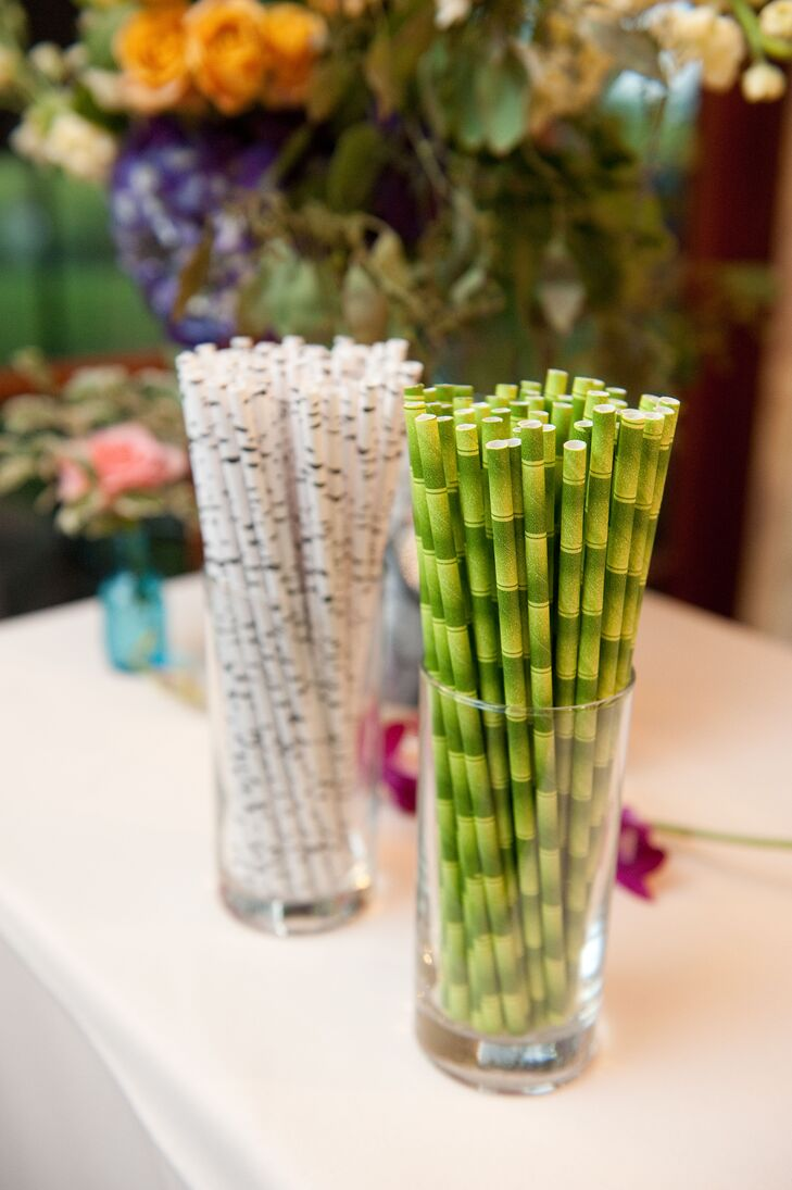 Tree-Inspired Paper Straws