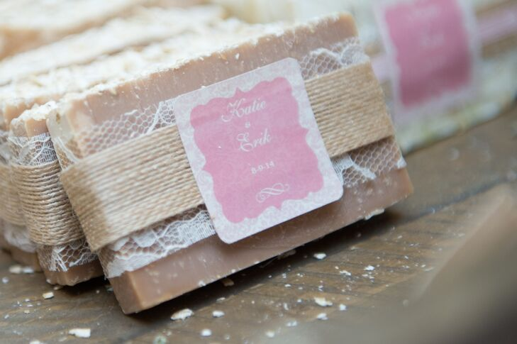 Handmade Soap Wedding Favors