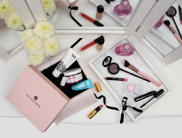 19 subscription gifts to give your wedding party or yourself glossybox beauty subscription box junglespirit Choice Image
