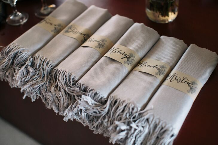 Pashmina Bridesmaid Gifts