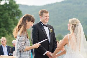 Formal Tuxedo at Vineyard Wedding