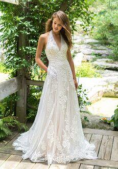 Lillian West 66017 A-Line Wedding Dress