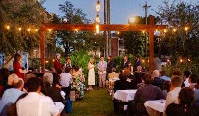 Paradigm Gardens Reception Venues New Orleans La