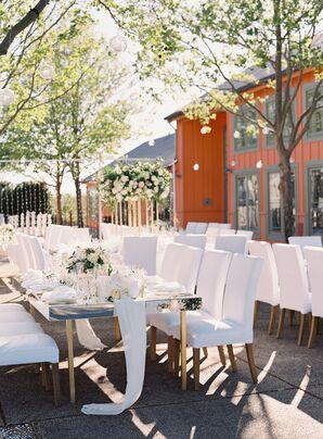 Romantic White Décor for Reception at Carneros Inn in Napa, California
