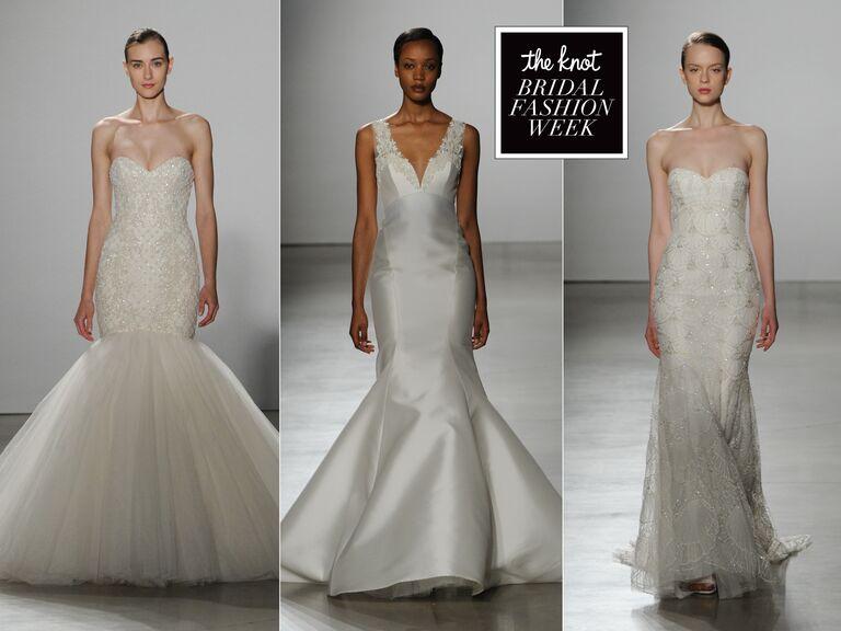 Kenneth Pool Sring 2016 Bridal Fashion Week Photos