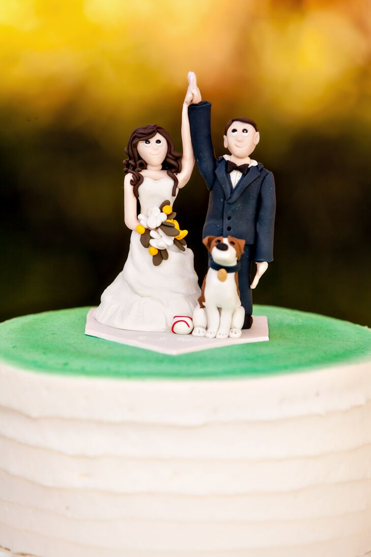 Custom Cake Topper with Dog