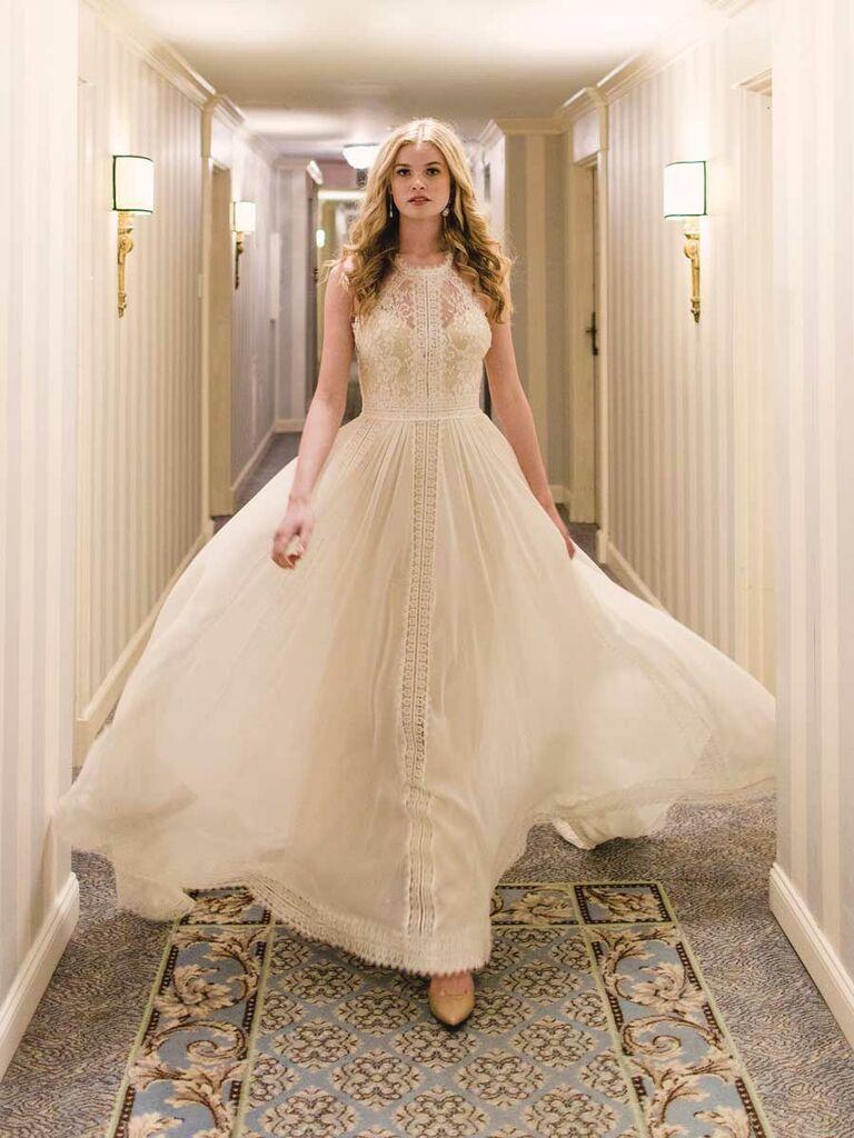 Luna Bleú Spring 2019 Collection: Bridal Fashion Week Photos