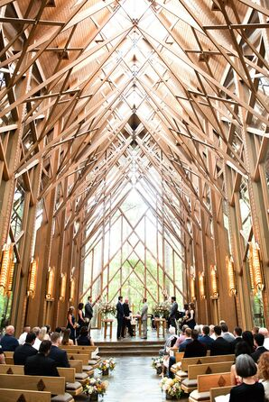 Same-Sex Ceremony at Anthony Chapel in Hot Springs, Arkansas
