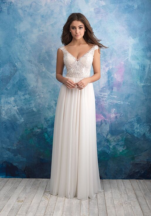 Allure Bridals 9563 A-Line Wedding Dress
