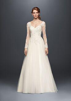 David's Bridal David's Bridal Style WG3831 A-Line Wedding Dress