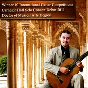 Phoenix, AZ Classical Guitar | Dr. Costa- 10x International Winner- Carnegie Hall