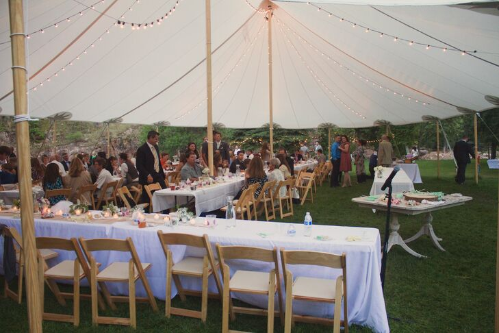 A Tented Reception in Lyons, Colorado
