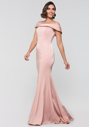 Kleinfeld Bridesmaid KL-200016 Off the Shoulder Bridesmaid Dress