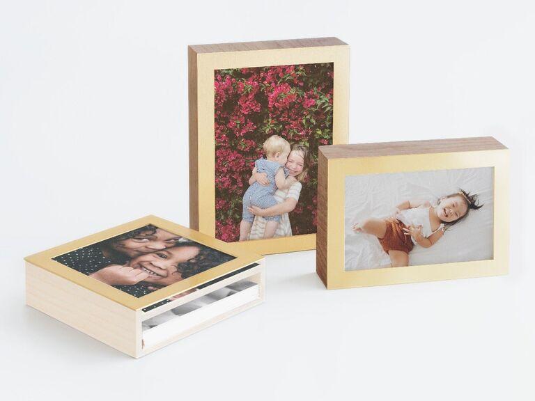 Photo display box gift idea