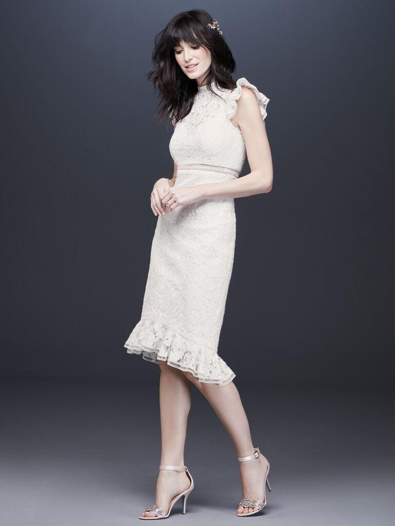Galina beach wedding dress