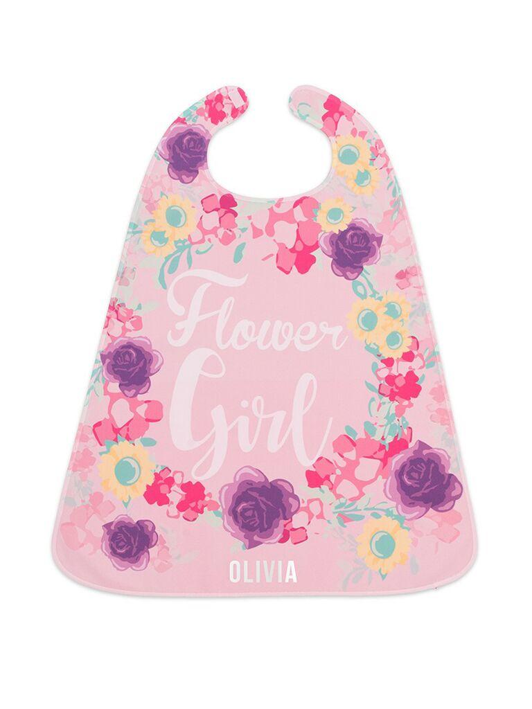 flower girl superhero cape
