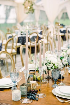 Blush Wedding Decorations Accents