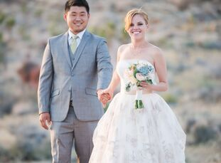 Hiking and camping are two of Kelly Field (28 and a teacher) and Edward Won's (27 and a field engineer) favorite ways to spend time together. One of t