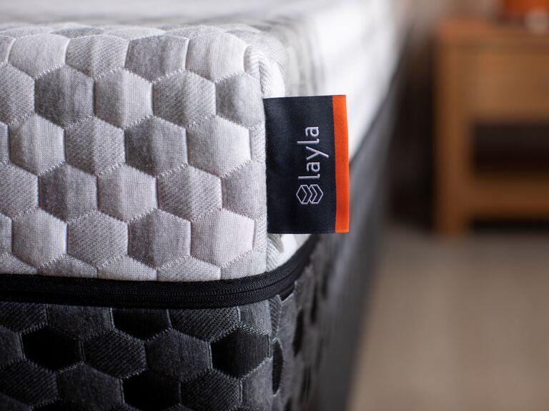 Layla hybrid best mattress for minimal partner disturbance