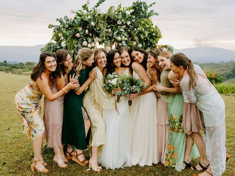 Acree bride friend group