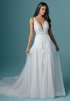 Maggie Sottero MICKI A-Line Wedding Dress