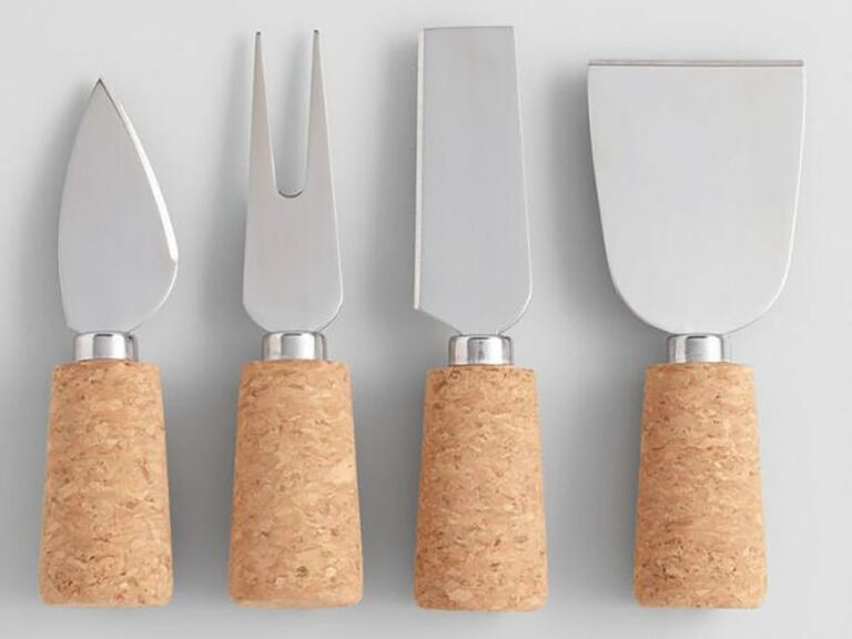 World Market cheese knife set gift for wife