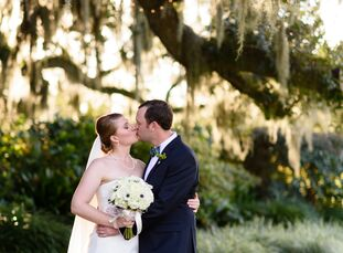 Inspired by the Southern charm of Heritage Plantation in Myrtle Beach, South Carolina, Erika Trent (28 and a quality engineer) and Robert Ramsbottom (