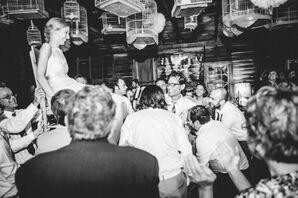 Aubrey and Andrew Wedding Reception Hora
